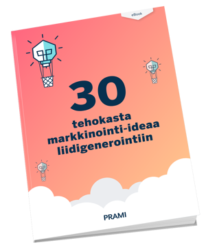 Lataa 30 tehokasta markkinointi-ideaa liidigenerointiin -opas