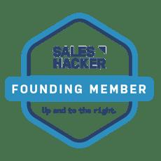 Sales Hacker Founding Member