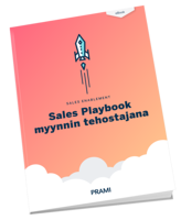 Sales Playbook myynnin tehostajana