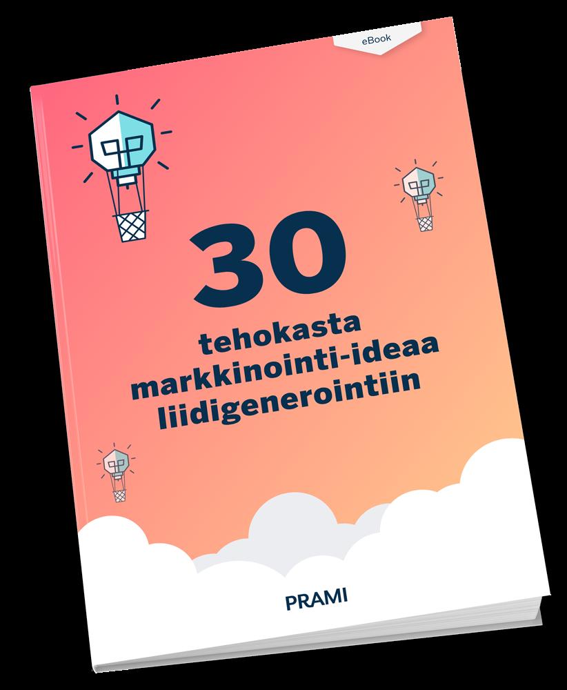 30 tehokasta markkinointi-ideaa liidigenerointiin
